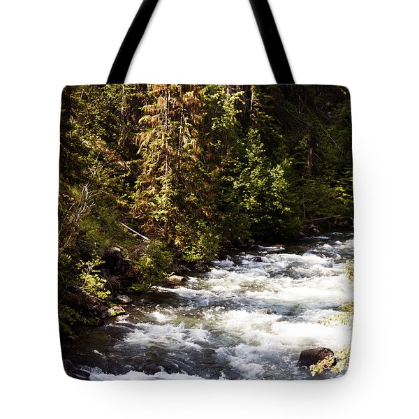Along American River Tote Bag