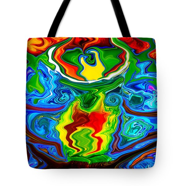 Along Came A Spider Tote Bag by Omaste Witkowski