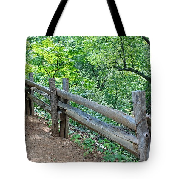 Along The Blue Ridge Parkway IIi Tote Bag by Suzanne Gaff