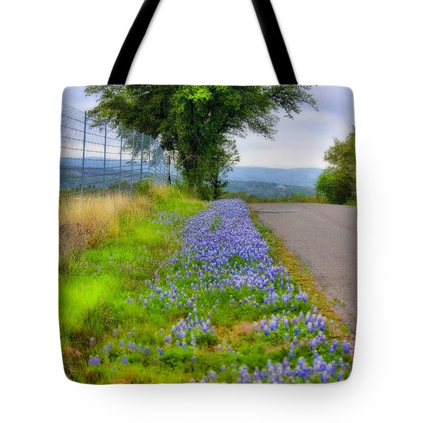 Along The By Ways Tote Bag by Joan Bertucci
