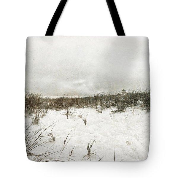 Along The Cape Cod National Seashore Tote Bag by Michelle Wiarda