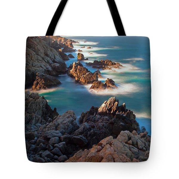 Along The Coastline Tote Bag
