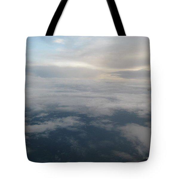 Along The Horizons Edge Tote Bag