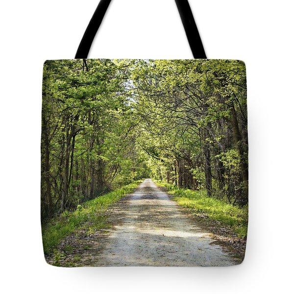 Along The Katy Trail Tote Bag