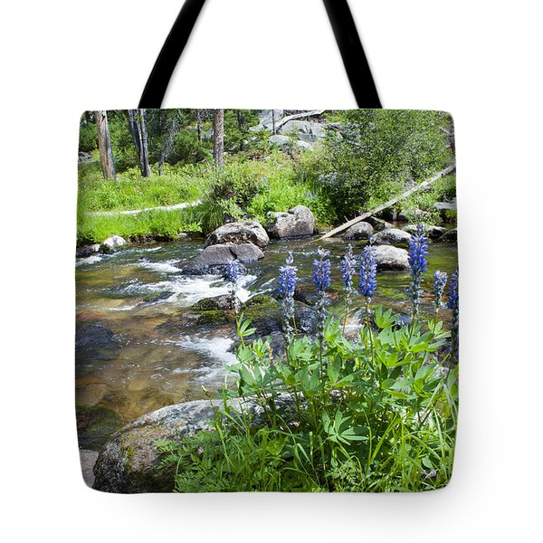 Along The River Tote Bag by Fran Riley
