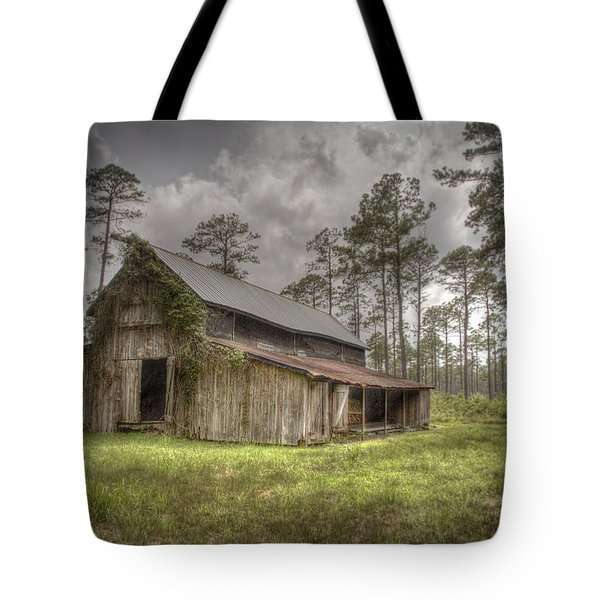 Along The Road To Southport Tote Bag
