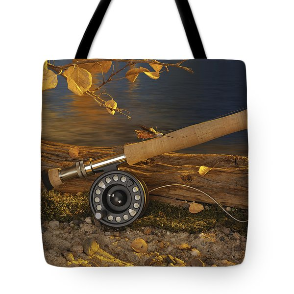 Along The Stream Tote Bag by Jerry McElroy