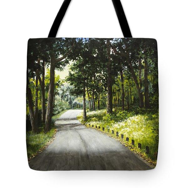 Along The Way Tote Bag