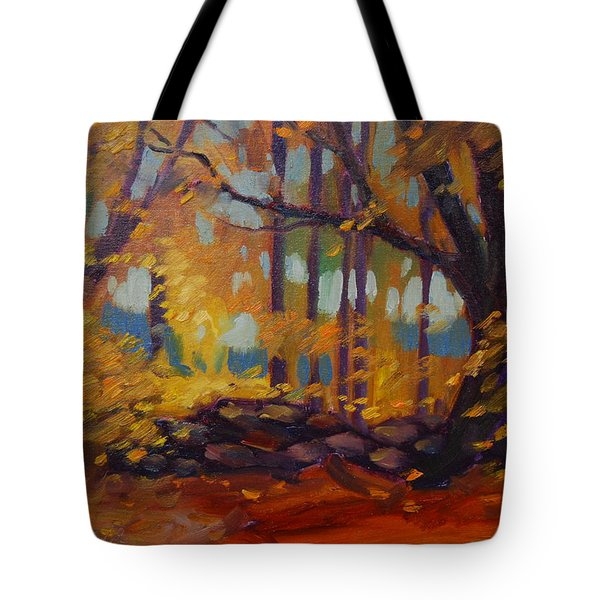 Along Windsor Road  Tote Bag