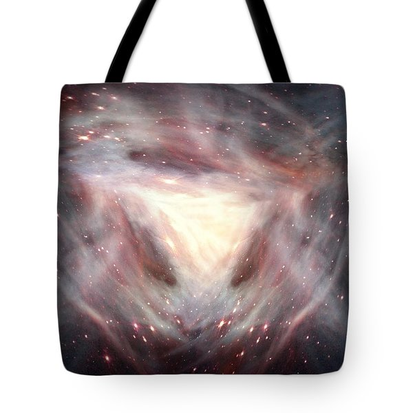Alpha And Omega Tote Bag by Bill Stephens