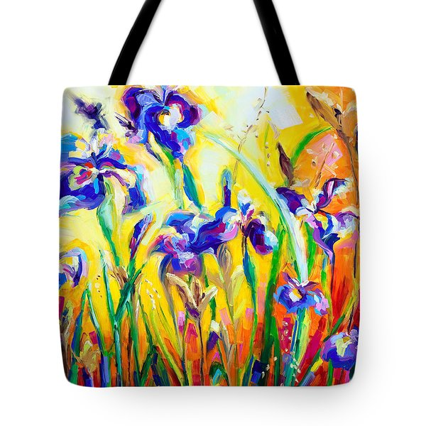 Alpha and Omega Tote Bag by Talya Johnson