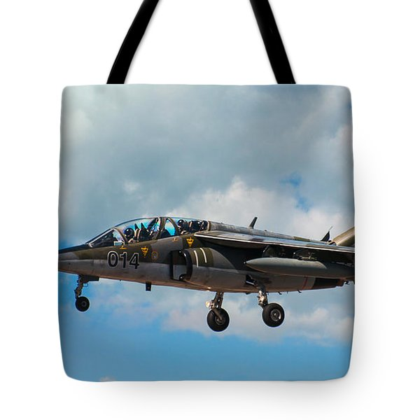 Alpha Jet 014 Tote Bag by Bianca Nadeau