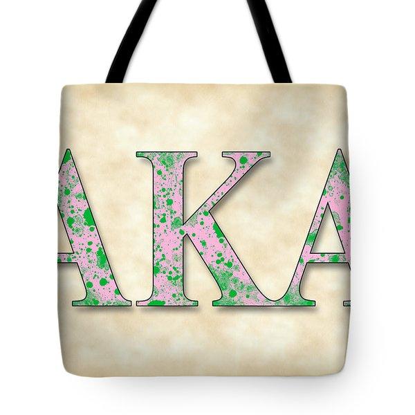 Alpha Kappa Alpha - Parchment Tote Bag