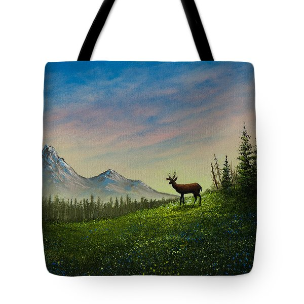 Alpine Beauty Tote Bag by C Steele