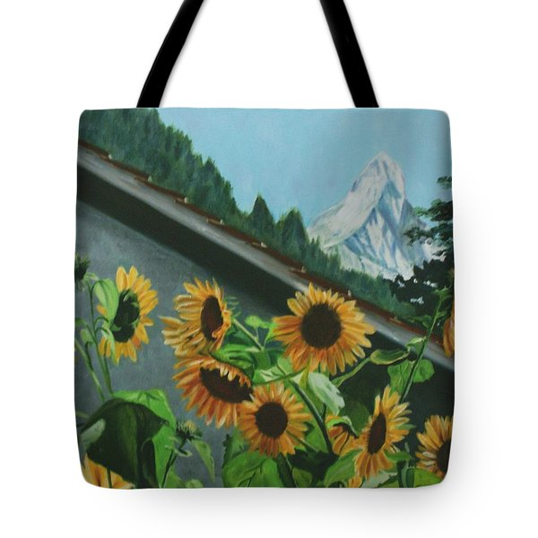 Alpine Delight Tote Bag