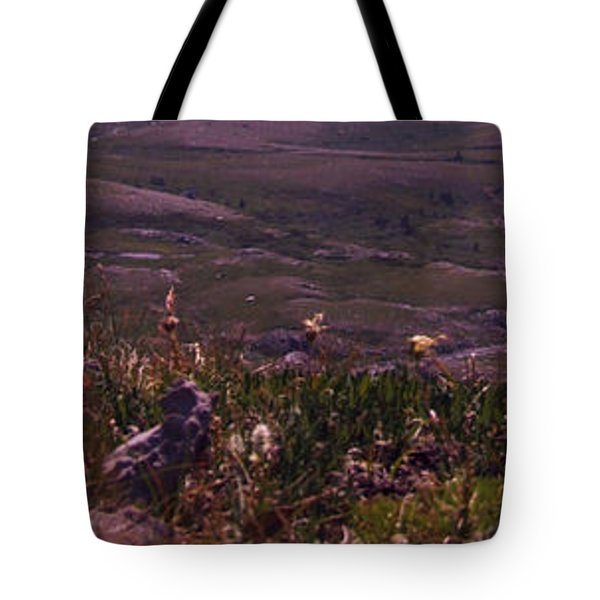 Alpine Floral Meadow Tote Bag