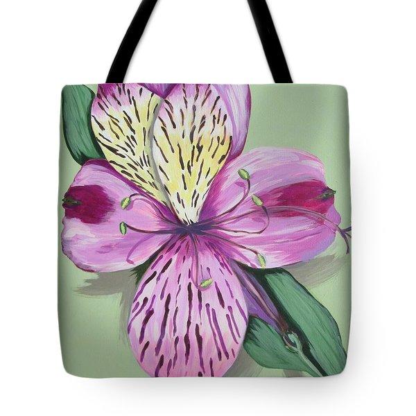 Alstroemeria No.1 Tote Bag