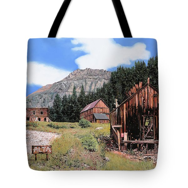 Alta In Colorado Tote Bag