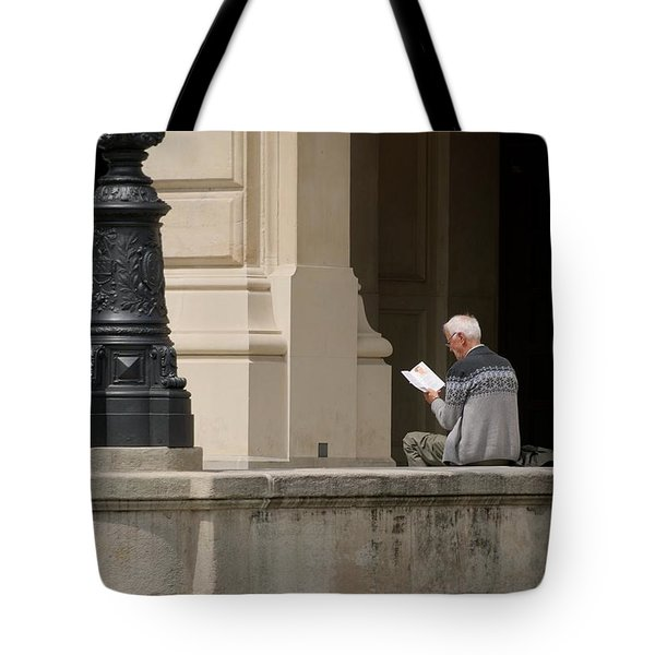 Tote Bag featuring the photograph Alte Oper by Steven Richman