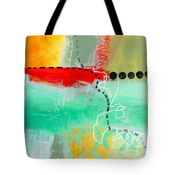 Alternate Route 56 Tote Bag by Jane Davies