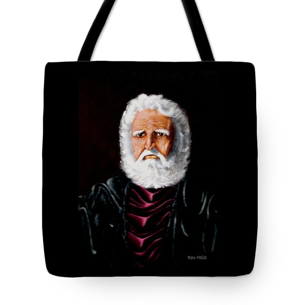Altions...painted When 17years Old Tote Bag by Ron Haist