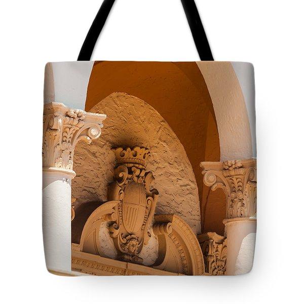 Alto Relievo Coat Of Arms Tote Bag