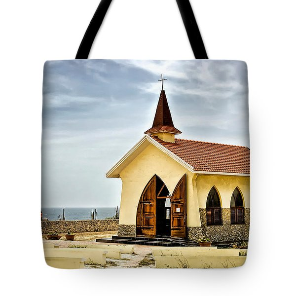 Alto Vista Chapel Aruba Tote Bag