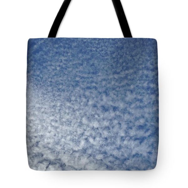Tote Bag featuring the photograph Altocumulus Clouds by Jason Williamson