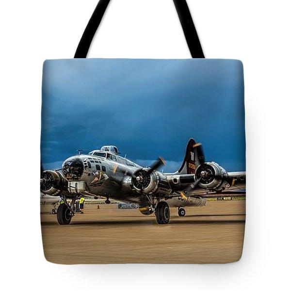 Aluminium Overcast Tote Bag