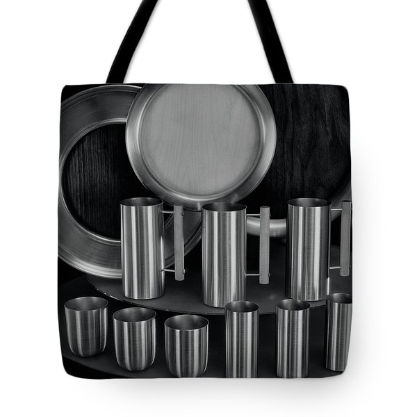 Aluminum Tableware Tote Bag