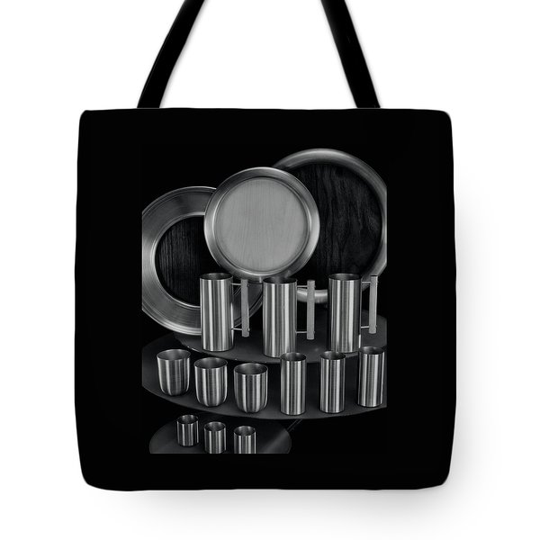Aluminum Tableware Tote Bag