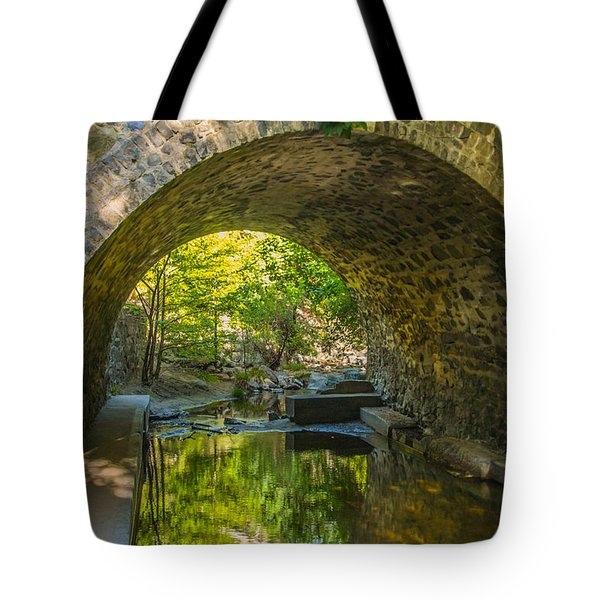 Alvarado Bridge Tote Bag