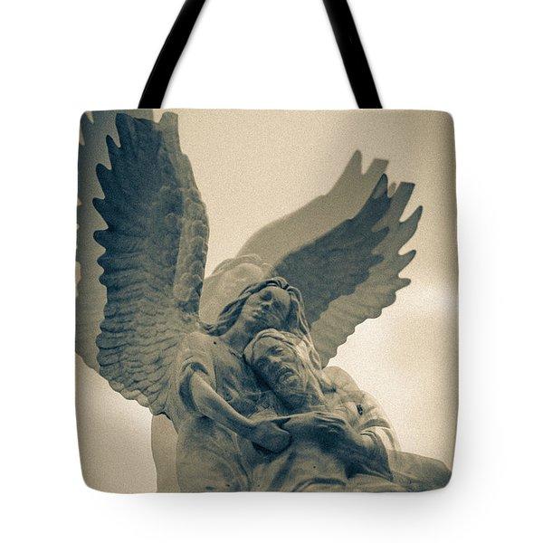 Always In My Heart Double Exposure Tote Bag