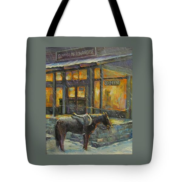 Always Open Tote Bag by Donna Tucker