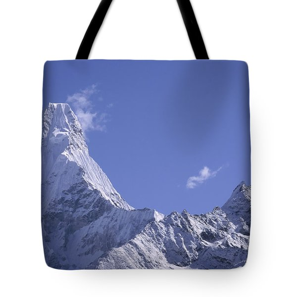 Tote Bag featuring the photograph Ama Dablam Nepal by Rudi Prott