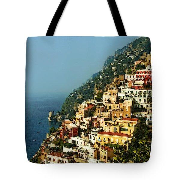 Positano Impression Tote Bag