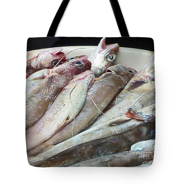 Amalfi Fish Tote Bag