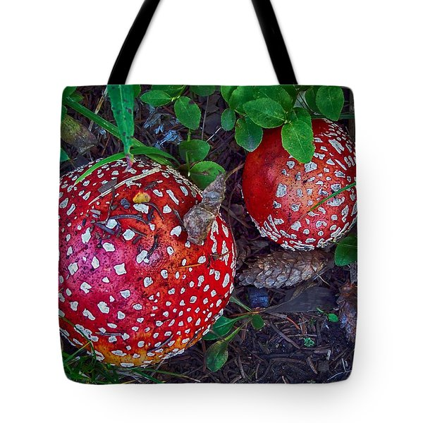 Tote Bag featuring the photograph Amanita by Bitter Buffalo Photography