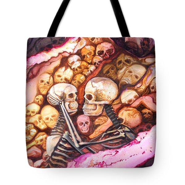 Amar Pa Siempre Tote Bag by Angel Ortiz