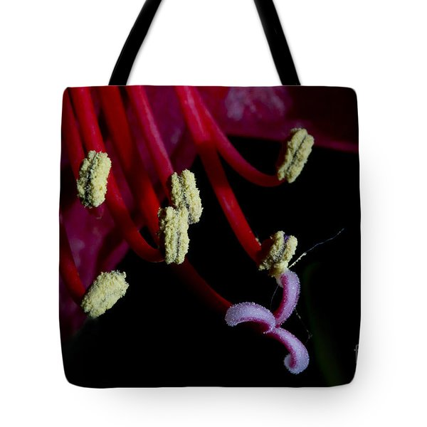 Amarilla Flower   #9398 Tote Bag