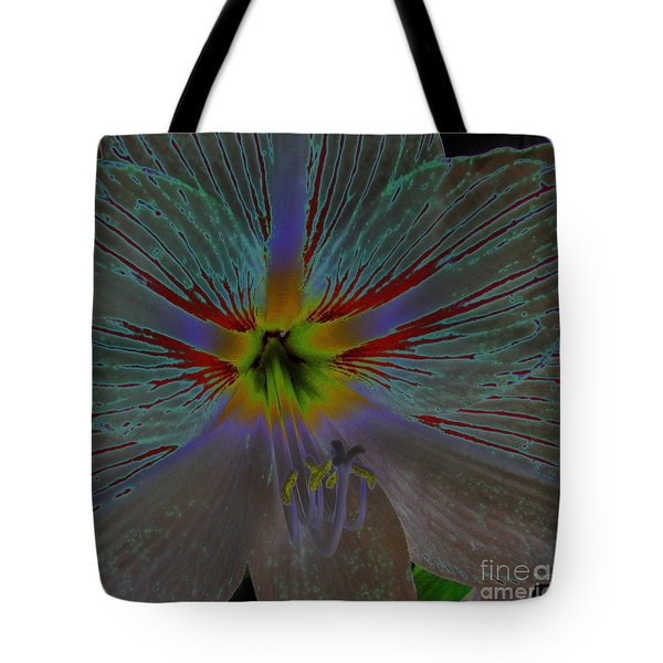 Amaryllis Colors Tote Bag by D Hackett