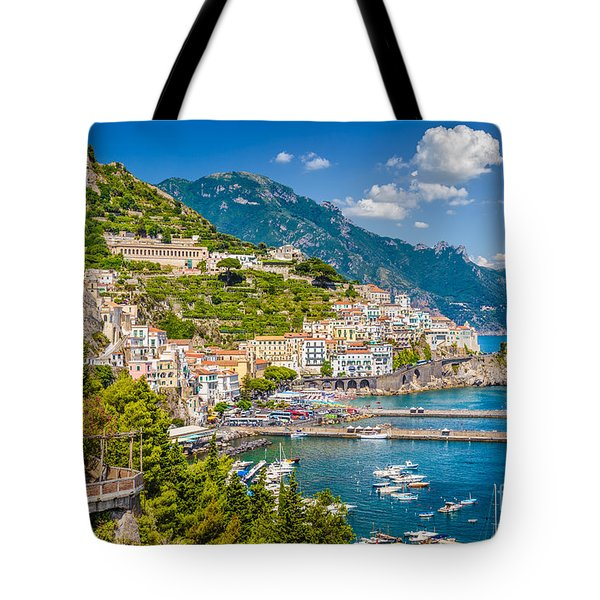 Amazing Amalfi Tote Bag