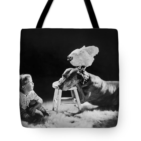 Amazing Circa 1920 Tote Bag by Aged Pixel