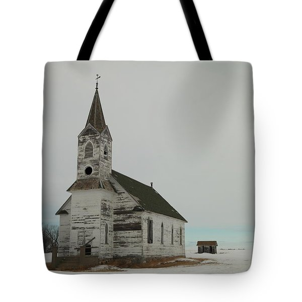 Amazing Grace In North Dakota Tote Bag by Jeff Swan