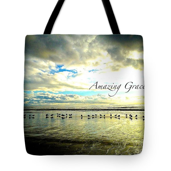 Amazing Grace Sunrise 2 Tote Bag by Margie Amberge