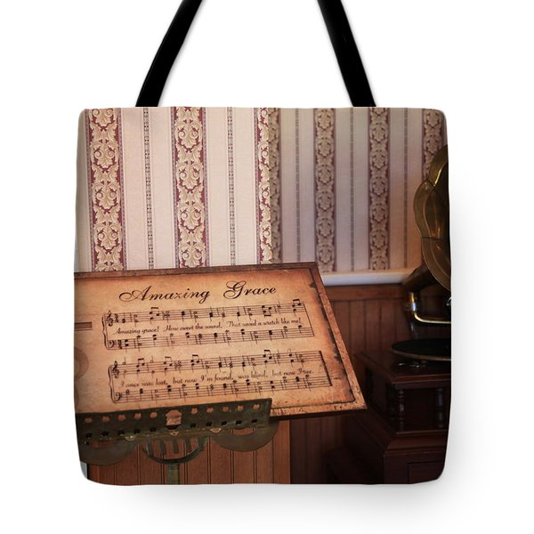 Amazing Grace Tote Bag by Toni Hopper
