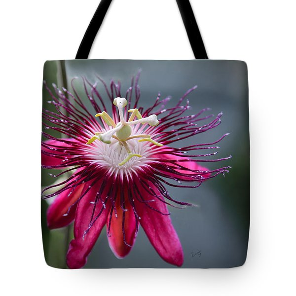 Amazing Passion Flower Tote Bag