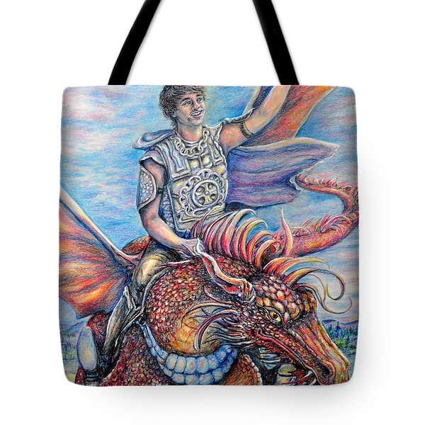 Amazing Rider Tote Bag