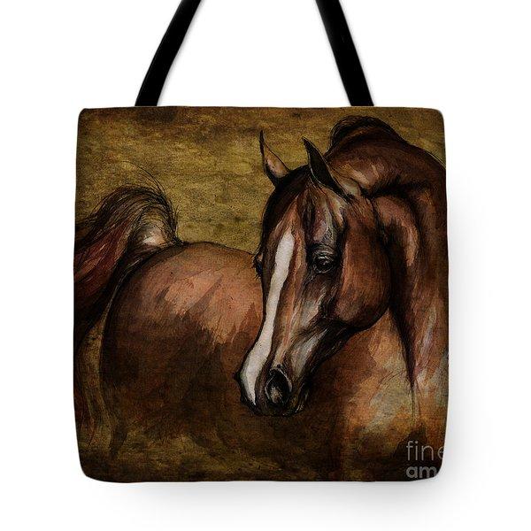 Amber  Tote Bag by Angel  Tarantella