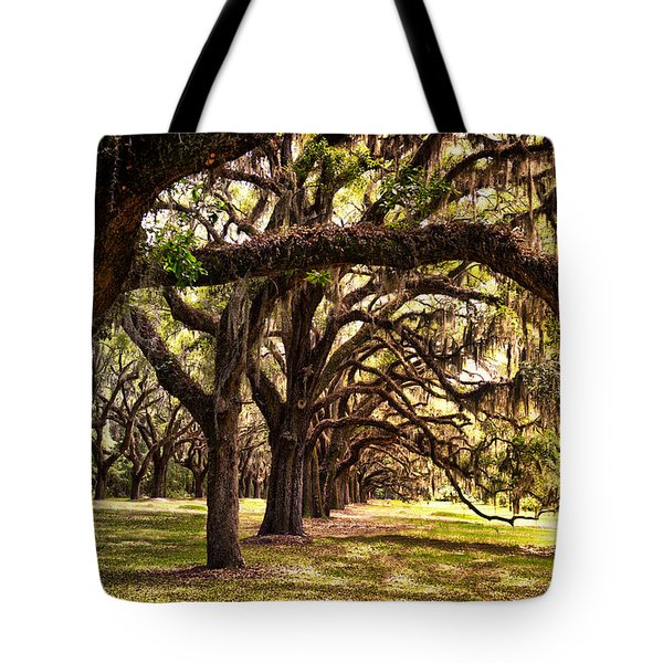 Amber Archway Tote Bag